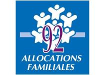 Logo CAF des Hauts-de-Seine