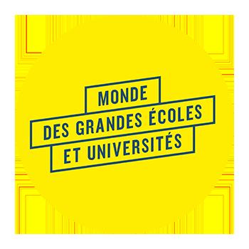 Logo MONDE DES GRANDES ECOLES ET UNIVERSITES