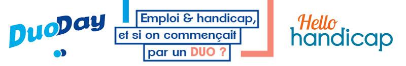Partenariat DuoDay - Hellohandicap